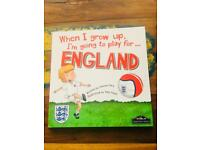 I'm going to play for England!! ⚽️🏴󠁧󠁢󠁥󠁮󠁧󠁿 Children's book.
