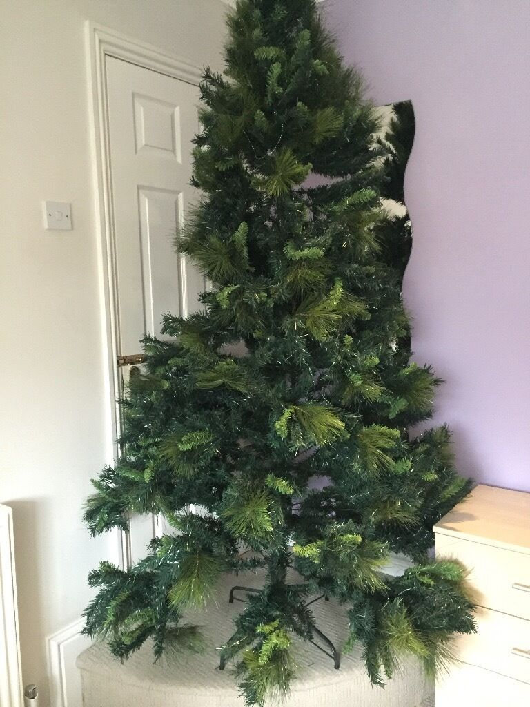 Huge 7ft real look artificial Christmas tree | in Oxford ...