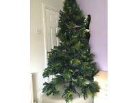 Huge 7ft real look artificial Christmas tree