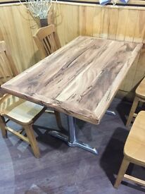 Rectangular Wooden Effect Laminated Dining Table