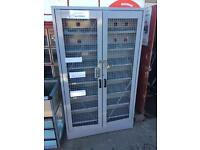 Security locked cabinet