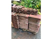 Marley profiled concrete roof tiles