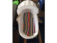 Quick sale moses basket