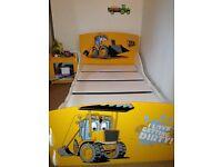 Joey JCB Toddler bedroom set