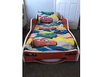 Lightening McQueen toddler bed