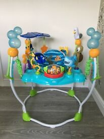 Jumperoo bouncer Finding Nemo excellent condition