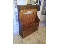 GORGEOUS PEW../.. MONKS BENCH... WITH STORAGE.... £99---- NO OFFERS