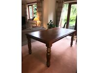Sterling Furniture Rustic Dining Table - 6 Seater
