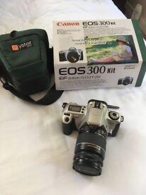 Canon Eos 300 35mm camera
