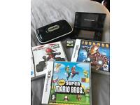 Black Dsi console and games bundle