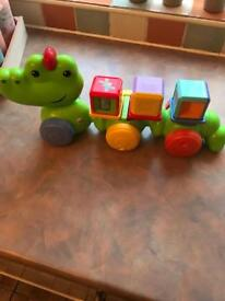 Fisher Price Silly Crawl Around Croc
