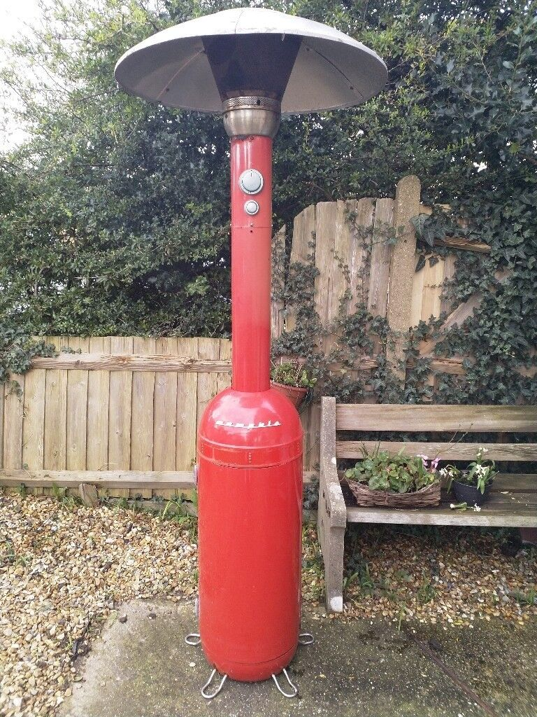 Memphis Retro 13kw Patio Heater Red Spears Or Repairs Not Working