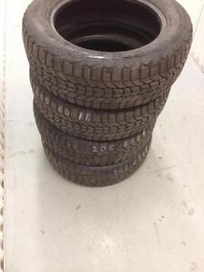 4 Firestone winter tires:205/60R16