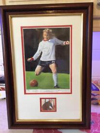 Sheffield United - signed Tony Currie print