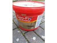 Geofix resin compound. Unopened in natural colour