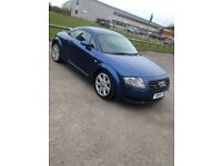Audi TT with service history
