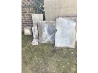Garden paving slabs approx 20 msq