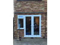 Anglian UPVC French Doors