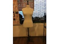 Shop Display Mannequin With Wooden Stand (Shop Clearance)