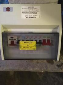 Consumer unit fuse box