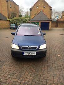 2004 Vauxhall Zafira 2.2l Design 7 Seats