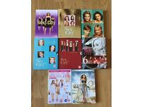 Sex & The City DVD box sets 1 - 6 plus 2 movies