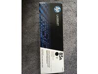 Unopened HP Laserjet 85A Black Toner Cartridge