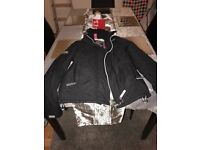 Ladies superdry Coat in Black size XS