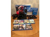 PS4 , 7 games , 2 headsets , all boxed like new