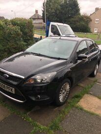 Black Ford Focus titanium 2.0 tcdi