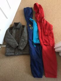 Selection of boys coats age from 4-8years- please see all photos