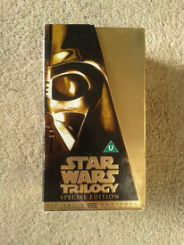 Star Wars Trilogy Special Edition VHS Tape Set