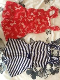 Girls playsuits