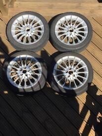 """Saab 17"""" alloy wheels"""