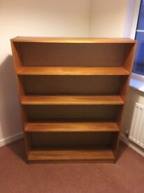 Bookcase - - Nicely made and solid