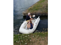 Boat and Engine - 8ft inflatable with 3.5 Yamaha Engine.