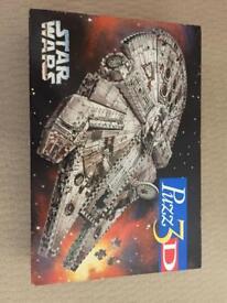 Star Wars Millennium Falcon Puzz 3D