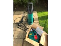 Bosch pressure washer Aquatak 110 plus with all tools