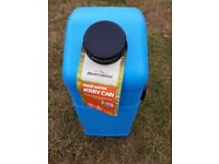 Adventuridge 23 litre fresh water container, jerry can never used camping caravan campervan barge