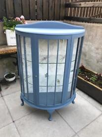 Antique restyled China display cabinet