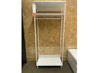 RESERVED- PLATSA Open clothes hanging unit, white, 80x40x191 cm, IKEA Milton Keynes #bargaincorner