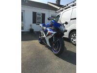 Suzuki gsxr 600 K7... Akrapovic exhaust... ASV levers... pro bolt kit