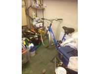 House and garage sale . Moving house and no room, all garage must be emptied , all must go