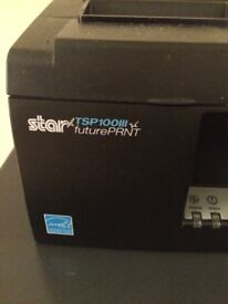 2 x Star TSP100 Printers + Cash drawer