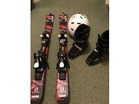 Kids Ski Equipment Age 4 to 6 years