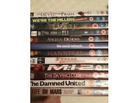 Mixed bundle of 12 DVDs