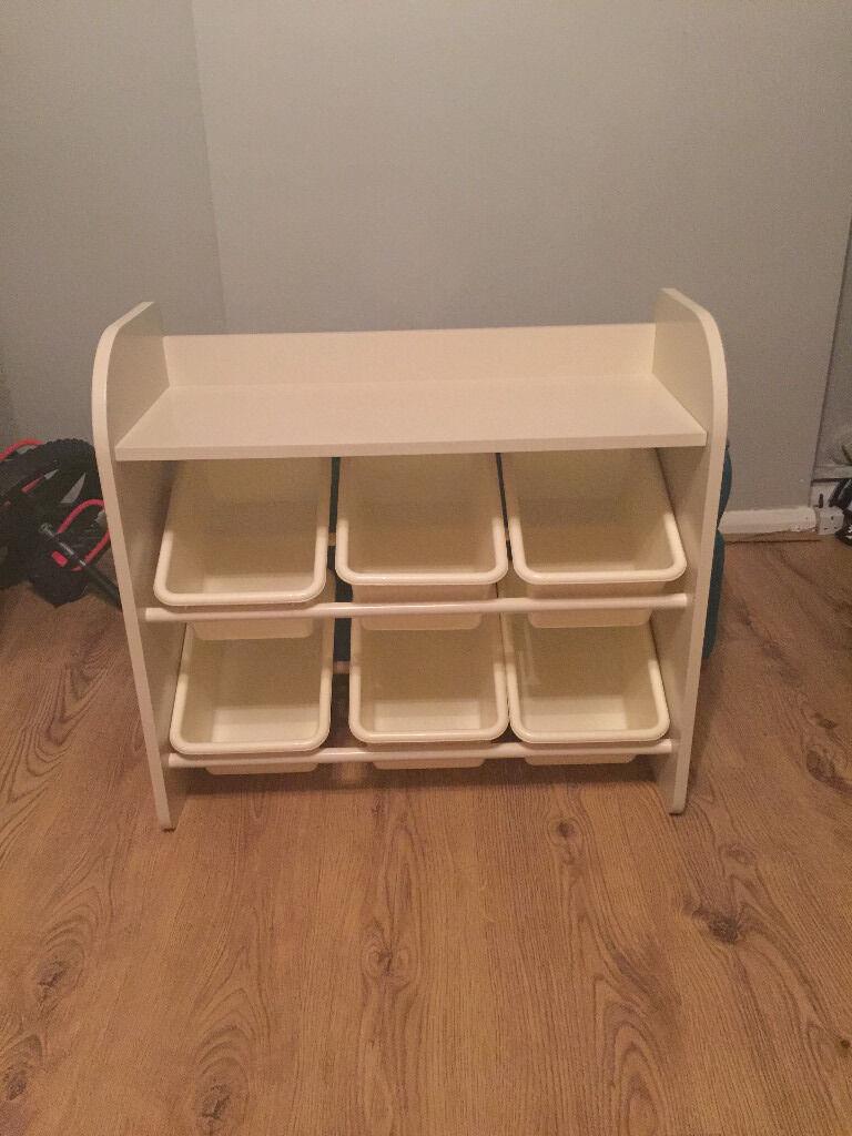 Next 6 Bin Toy Storage Unit