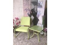 New Garden Chair and Table Set