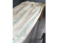 2 sets of curtains, cotton, John Lewis fabric