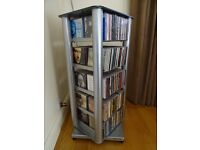 "CD Stand Chrome 250 CD's - Quality Make - ""Sound Style"""